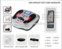 physical therapy electronic magnetic wave pulse foot massager infrared reflexology foot massager with CE ROHS Approval EG-FM03
