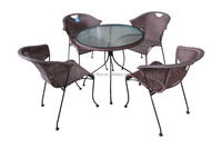 leisure furniture sets popular rattan chair wicker resin outdoor tables and chair sets