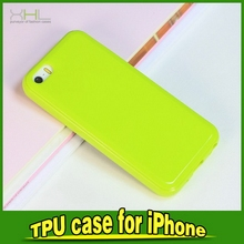 Factory hotsell tpu gel skin case for iphone5 c
