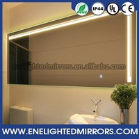 Trade Assurance Order lighted mirror waterproof cheap bathroom mirror cabinet made in china