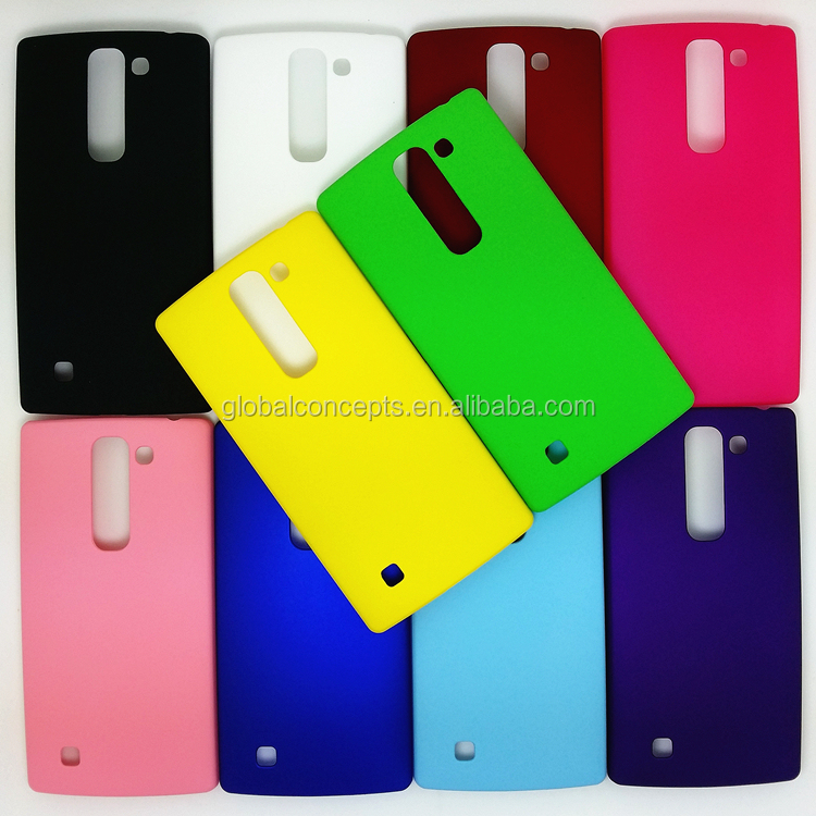 Colorful Rubber Oil Matte Hard Cover Case For LG Magna H502