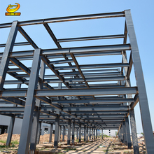Low cost prefab poultry shed steel structural warehouse workshop factory