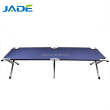 Refugee use folding aluminum stretcher with EN581 test report Outdoor portable folding bed