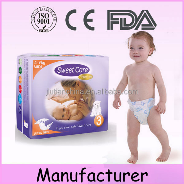 Best selling a grade mom love baby products disposable baby diapers manufacturers in china