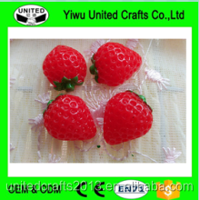 artificial strawberry fake fruit mini fruit faux food party kitchen house decor