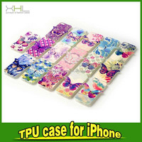 china supplier wholesale ultra thin tpu case with butterfly for iphone 6