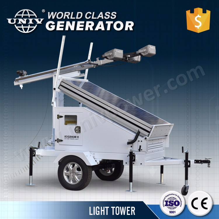 Wholesale Price 5kw powered by Kubota Mobile Light Tower Diesel Generator