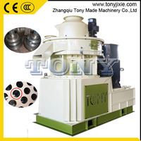 2016 new hot sale Ring Die Biomass Wood Pellet Processing Machine with auto lubrication system