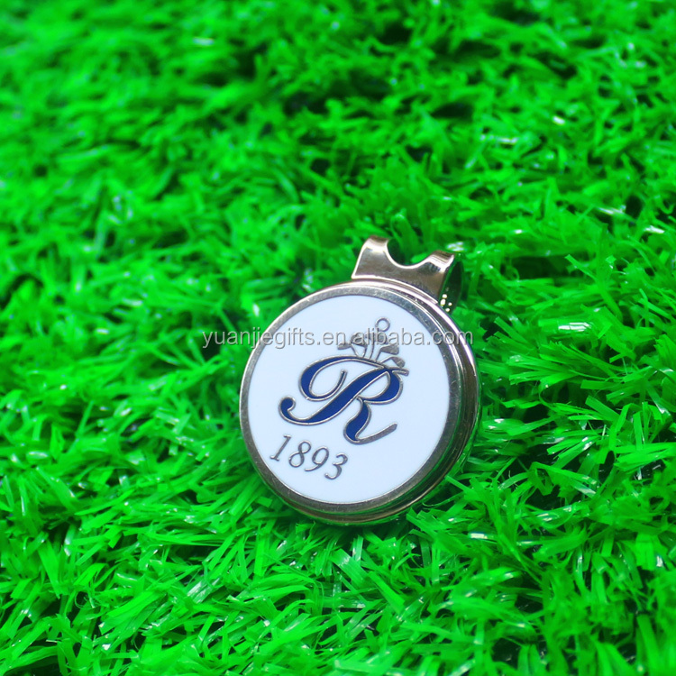 2016 new style custom made golf ball markers marking golf ball