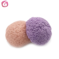facial skin gentle 100% natural konjac sponge beauty care konjac sponge dry white konjac sponge