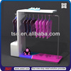 TSD-W123 custom free standing clothes hanging stand,retail garment shop interior design,dress display stand