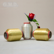 Fashionable and Easy To Use On Sewing MS/ST Type Pure Gold Pure Silver Metallic Yarn