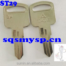 F113 ST28 Brass decorative House key blanks Wholesale
