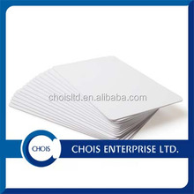 OEM Plain White PVC ID Card
