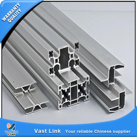 New design aluminium profile to make doors and windows made in China