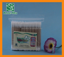 high quality wooden stick ESD cotton Swab for Cleanroom industrial cotton swab