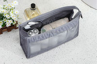 fashion high quality Polyester carrying makeup cosmetic Case