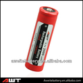 High drain battery 18650 rechargeable battery IMR18650 3.7V nickel-iron rechargeable battery