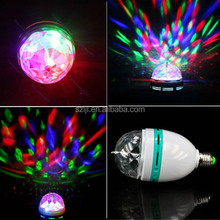1.5W Rotating Music Active RGB Stage Light with CE&RoHS Compliant