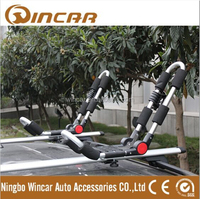 foldable aluminum kayak carrier car roof kayak rack