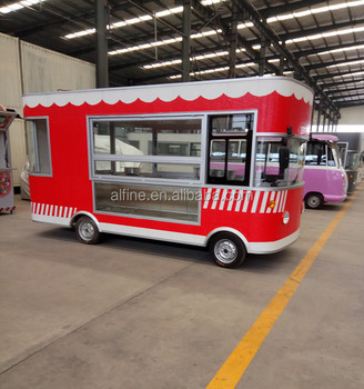 china electric practical mobile food truck