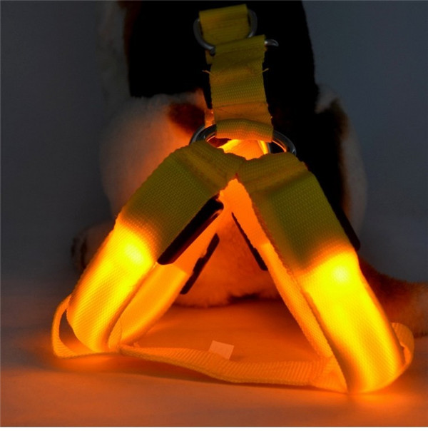 Best price pet supplies led large dog harness