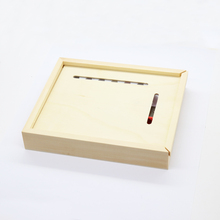 promotional gifts super wooden pencil box set with sharpener on sale