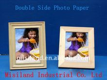 Double-Side Inkjet Photo Paper (one side glossy, the other matte )