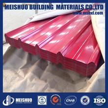 900mm Iron roofing sheets corrugated with color coated
