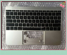 Wholesale Palm rest with US keyboard for macbook retina A1534 2015
