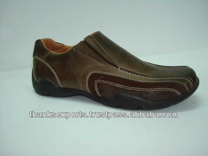 2013 most populare slip-on leather shoes men