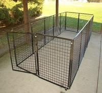 Metal pet kennel/heavy duty dog kennel wholesale