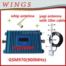 Booster/amplifier/repeatergsm970 900 mhz +power adaptor+outdoor yagi anten 10m cable+indoor çubuk anten