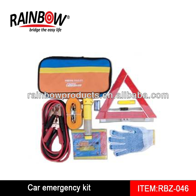RBZ-046 Many Parts Car Roadside Emergency Kits
