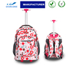 Teens school trolley bags backpacks wheeled rucksack bagpack school