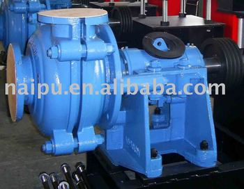 6 inch large flow rate centrifugal slurry pumps
