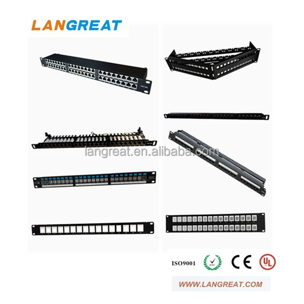 Krone&110 Daul IDC cat3 cat5e cat6 patch panel