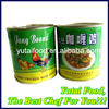 Types Canned Food Products Chicken Curry with Potato