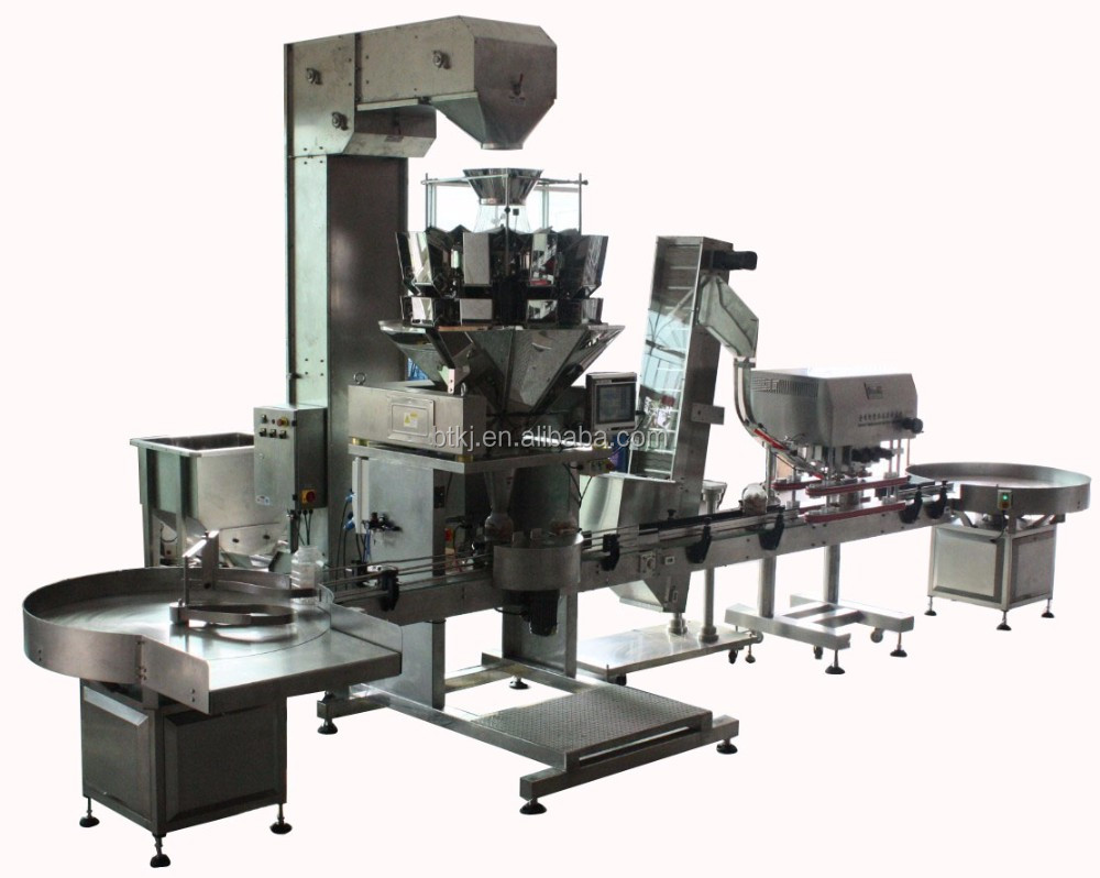 CE Approved Automatic Ice Cube Fruit Net Bag Scales Packing Machine
