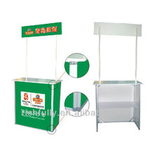 HOT SALE Promo table with printing picture, Promo stand, Aluminum table stand