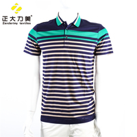 custom striped polo shirt t shirt guangzhou men textile manufacturers