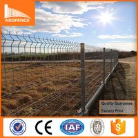 Cheap welded 3D GI mesh fencing / Hot dipped galvanized mesh fencing