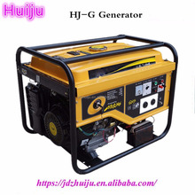 6KW Electric starter Silent Diesel Powered Engine Strong Diesel Generators HJ-D6000E