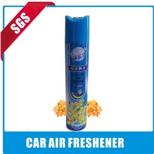 Air freshener spray good smell long lasting and hot sale car air freshener spray