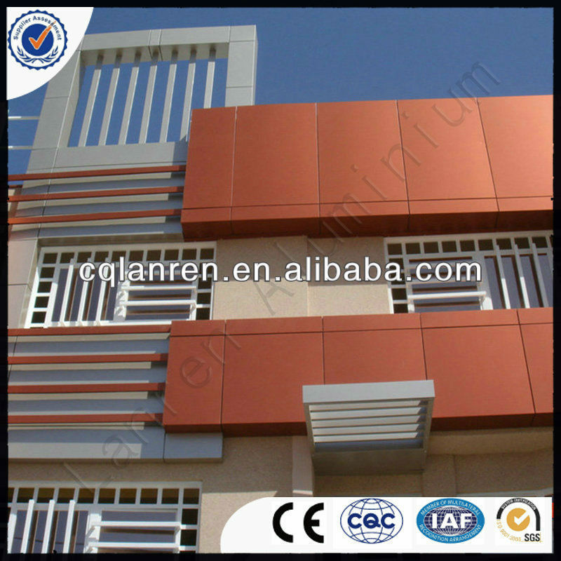 Fire-proof / NANO Aluminum Composite Panel for plastic plates roofing