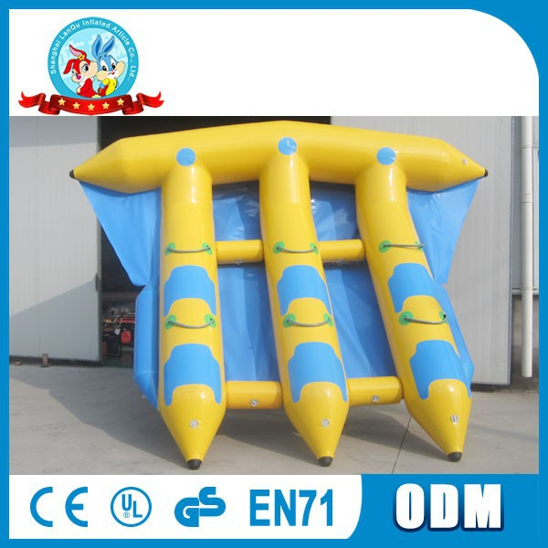 6-seat Inflatable Flying Fish Towable/Flying Fish Tube