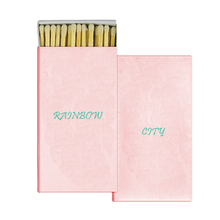 Hot sale safty match box custom candle matches gift wooden sticks match