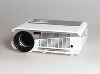 Newest LED Beamer/HD Projector LED 3000 Lumens, High Lumens LED Projector, Support 1080p,TV,VGA,HDMI, 2000:1
