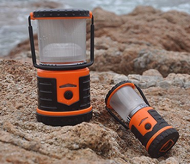 PC + ABS + Aluminum Ultra Bright Outdoor Emergency Mini Led Camping Lantern, USB Charge Camping Light