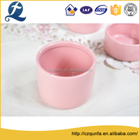 Hottest kinds of shape cute pink ceramic water canister